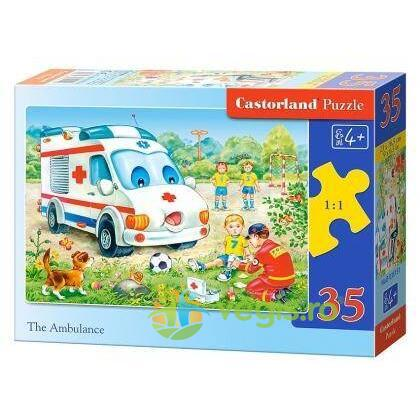 Puzzle 35 Castorland - The Ambulance