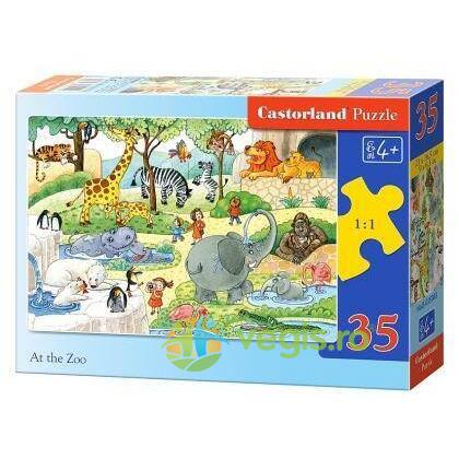 Puzzle 35 Castorland - At the Zoo