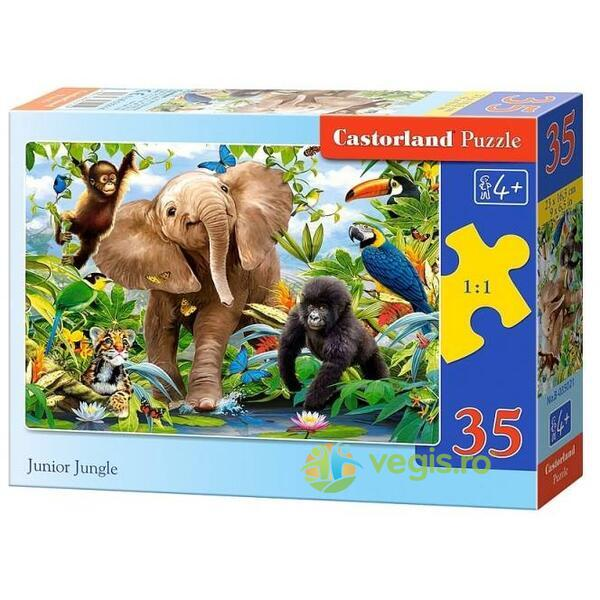 Puzzle 35 Castorland - Junior Jungle