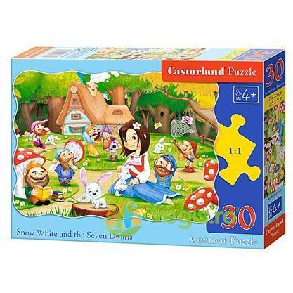 Puzzle 30 Castorland - Snow White and the Seven Dwarfs