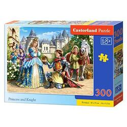 Puzzle 300 Castorland - Princess and Knight