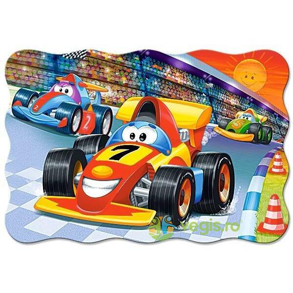 Puzzle 20 Maxi - Racing Action CASTORLAND