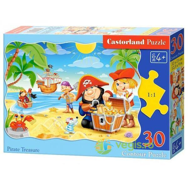 Puzzle 2 in 1 Castorland - Pirate Treasure