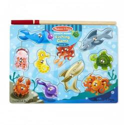 Joc de pescuit magnetic Animale marine 3 ani+ Melissa and Doug