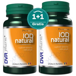 Iod Natural 60cps+30Cps Gratis DVR PHARM