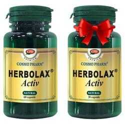 Herbolax Activ 60Cps+30Cps Promo COSMOPHARM