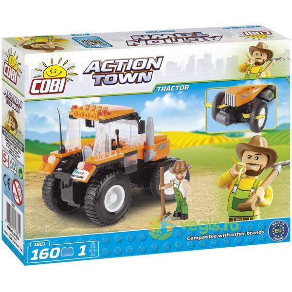 Action Town Cobi 160 Pcs - Tractor