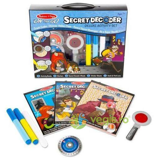 Decodorul de secrete 7 ani+ Melissa and Doug