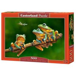 Puzzle 500 Castorland - The Frog Companions