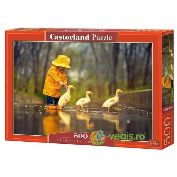 Puzzle 500 Castorland - Rainy day friends