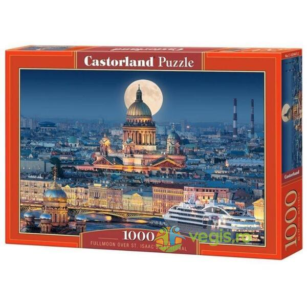 Puzzle 1000 Castorland - Fullmoon over St. Isaac's Cathedral