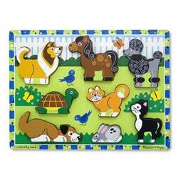Puzzle in relief Animale de companie Melissa and Doug