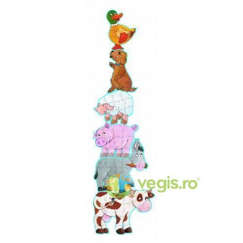 Puzzle gigant Djeco - Daisy and friends