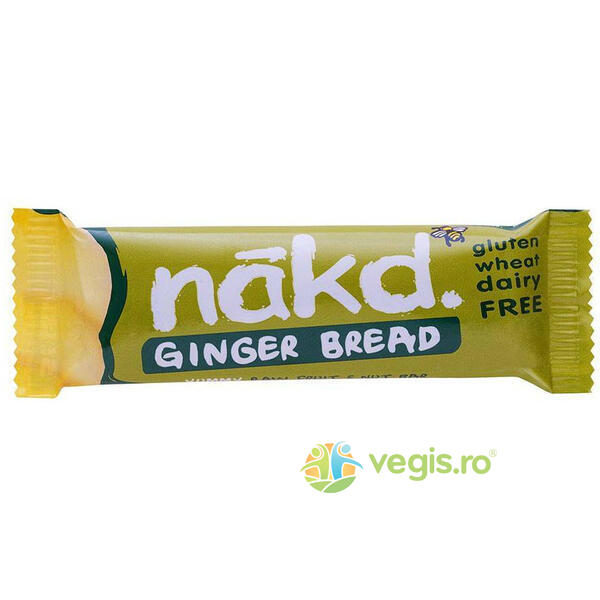 Baton Raw Ginger Bread (Turta Dulce) 35g NAKD.