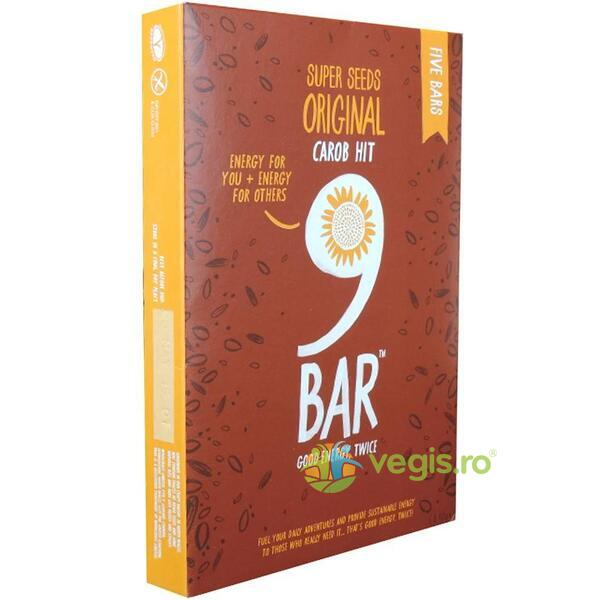 Pachet Batoane Original Carob Hit 5x40g 9BAR