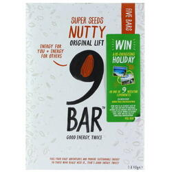 Pachet Batoane Original Lift Nutty 5x40g 9BAR