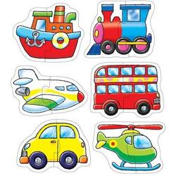 Set 6 puzzle Transport (2 piese) ORCHARD TOYS