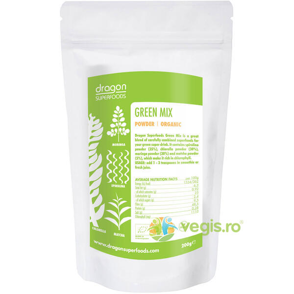 Green Mix Ecologic/Bio 200g OBIO