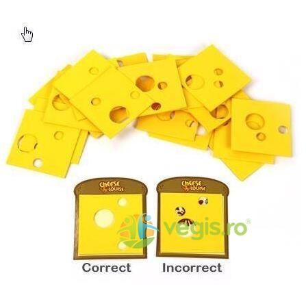 Observa si potriveste Cheese Louise - Fat Brain Toys 6 ani+