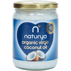 Ulei De Cocos Virgin Raw Ecologic/Bio 500ml NATURYA