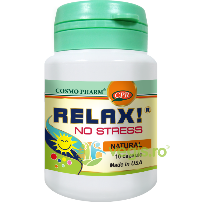 COSMOPHARM Relax! No Stress 10Cps