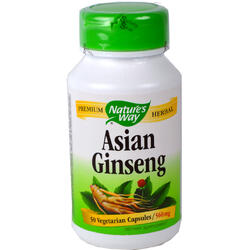 Asian Ginseng 560mg 50Cps NATURE'S  WAY