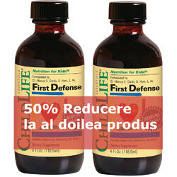 Pachet First Defense 118.5ml1+1-50% GRATIS CHILD LIFE ESSENTIALS