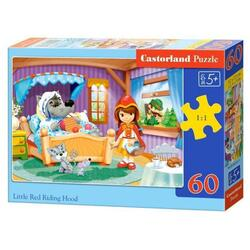 Puzzle 60 Castorland - Little Red Riding Hood