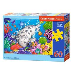 Puzzle 60 Castorland - On the coral reef