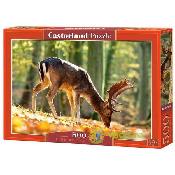 Puzzle 500 Castorland - King of the forest