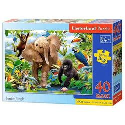 Puzzle 40 Maxi - Junior jungle CASTORLAND