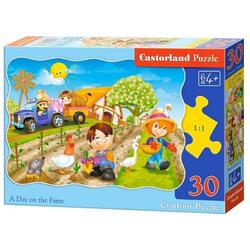 Puzzle 30 Castorland - A day on the farm