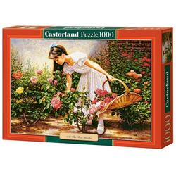 Puzzle 1000 Castorland - At the Rose Garden