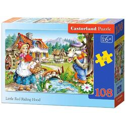 Puzzle 108 Castorland - Little Red Riding Hood