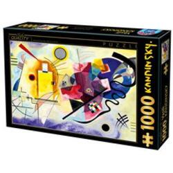 Puzzle 1000 Kandinsky - Yellow-Red-Blue (72849-03) D TOYS