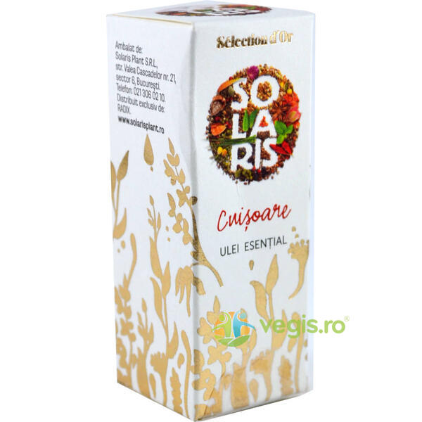 Ulei Esential Premium Selection D'Or Cuisoare 5ml SOLARIS