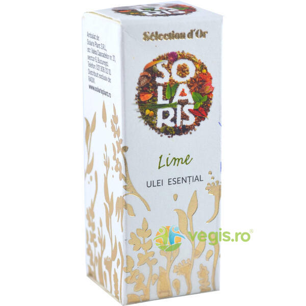 Ulei Esential Premium Selection d'Or Lime 5ml SOLARIS