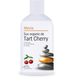 Suc Organic de Tart Cherry 473Ml