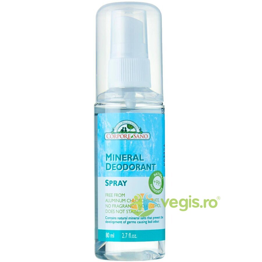 CORPORE SANO Deodorant Mineral Spray 80ml