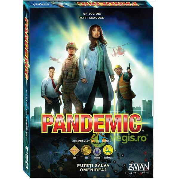 Pandemic - Joc de societate Z-MAN GAMES