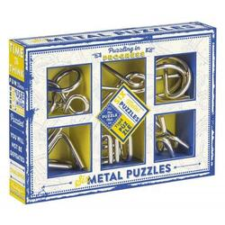 Puzzling in Progress: 6 x Metal Puzzles (Puzzle mecanic) PROFESSOR PUZZLE LTD.