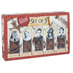 Great Minds - Set of 5 Women (Puzzle mecanic) PROFESSOR PUZZLE LTD.