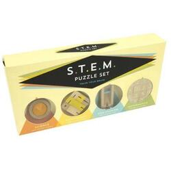 S.T.E.M. Puzzle Set  - Set of 4 PROFESSOR PUZZLE LTD.