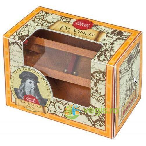 Great Minds - Leonardo Da Vinci's Ball Bearing Puzzle PROFESSOR PUZZLE LTD.