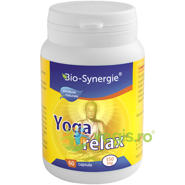 BIO-SYNERGIE ACTIV Yoga Relax 350mg 60 Cps