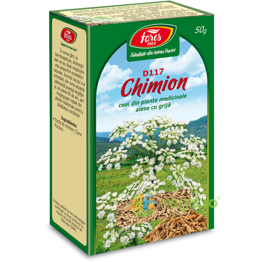 ceai fructe chimion 50gr
