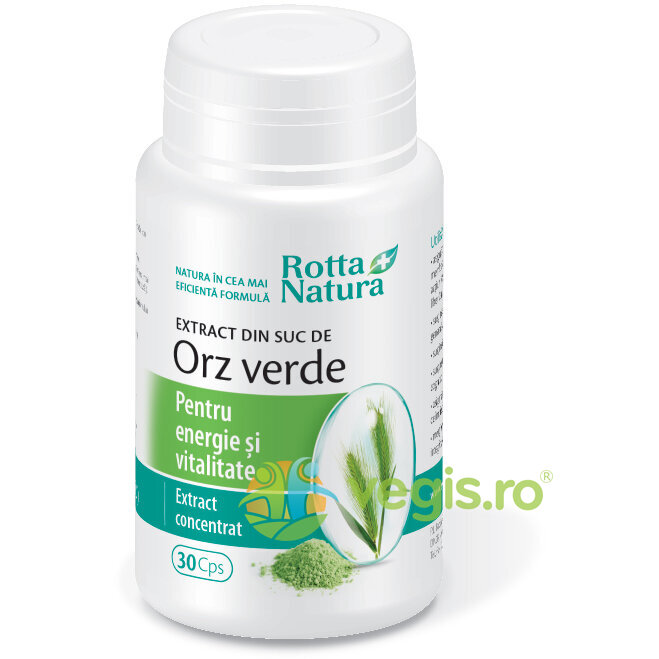 ROTTA NATURA Extract Orz Verde 30cps