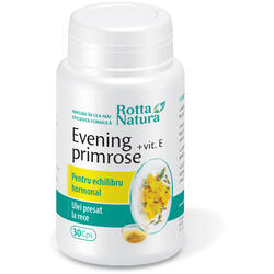 Evening Primrose (Luminita noptii)+Vitamina E 30cps