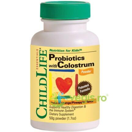 Colostrum with Probiotics 50gr CHILD LIFE ESSENTIALS