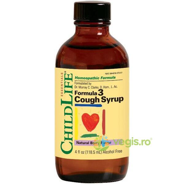 COUGH SYRUP 118.5ML CHILD LIFE ESSENTIALS